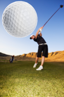 EFT can help with golf performance issues!